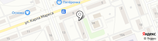 Гарант-Авто на карте Северодвинска
