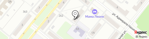 Участковый пункт полиции №20 на карте Северодвинска
