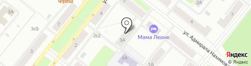 ТУРКОНСУЛ на карте Северодвинска