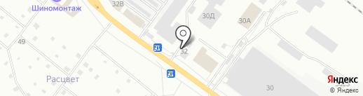 Авто на карте Ярославля