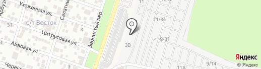 Кварц на карте Янтарного