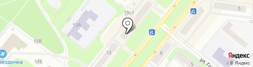Банкомат, Сбербанк, ПАО на карте Северодвинска