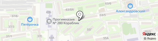 Black fam crew на карте Ростова-на-Дону