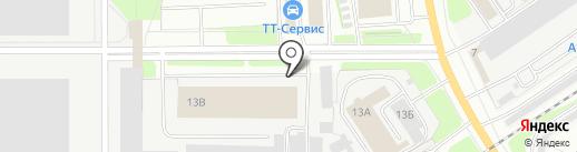 Вологодский подшипниковый завод, ЗАО на карте Вологды