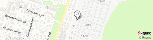 Магазин электротехнической продукции на карте Янтарного