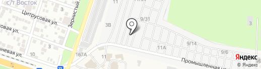 Картироль на карте Янтарного