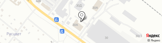 АСНова на карте Ярославля