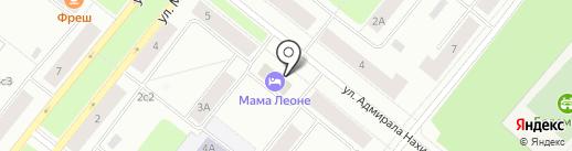 Мама Леоне на карте Северодвинска