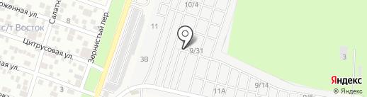 Замки61.ру на карте Янтарного