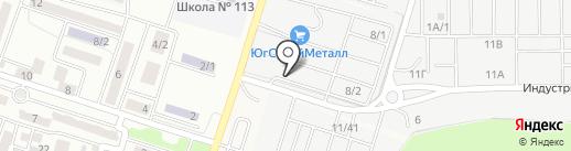 Магазин котлов на карте Янтарного