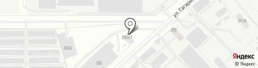 КАМАЗТЕХОБСЛУЖИВАНИЕ на карте Вологды