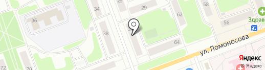 Почтовое отделение связи №4 на карте Северодвинска