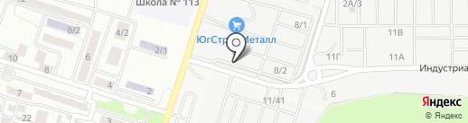 АСПАЙП-ЮГ на карте Янтарного