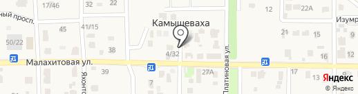 Florissima на карте Камышевахи