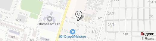 Комплексное Снабжение Металлами на карте Янтарного
