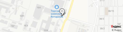НСТ на карте Ростова-на-Дону