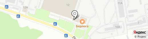 Краски Профи на карте Ярославля