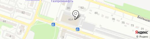 Техмастер на карте Рязани