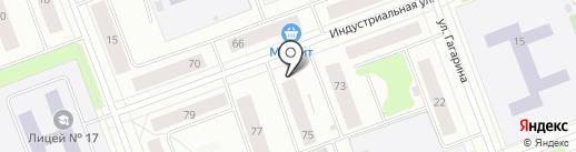 Х-АВТО на карте Северодвинска