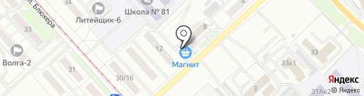 ПромСтройКомплект на карте Ярославля