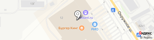 7D LUX на карте Вологды