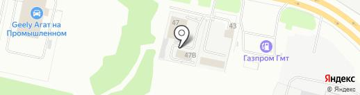 Пункт технического осмотра на карте Ярославля