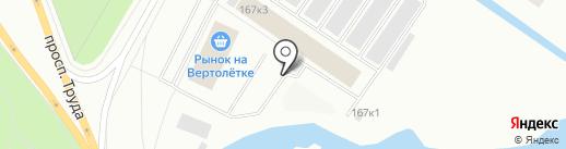 AvtoS на карте Северодвинска
