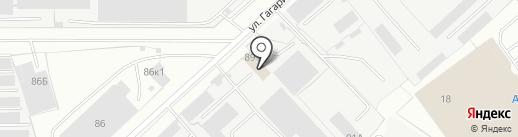 А-строй на карте Вологды