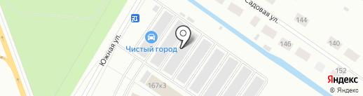 Автовинил на карте Северодвинска