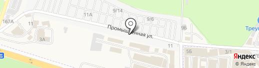 Rexant-Rostov на карте Янтарного