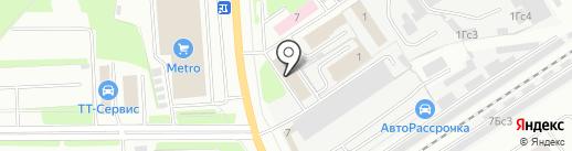 Дом и СаД на карте Вологды