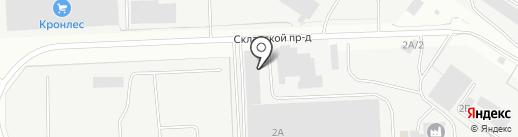 Вологодский завод технологического оборудования на карте Вологды