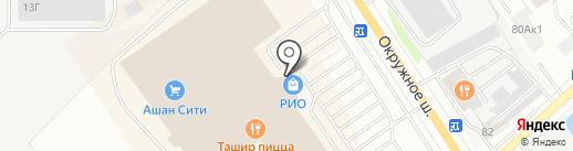 Брава Оправа на карте Вологды