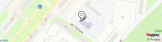 Детская школа искусств №34 на карте Северодвинска