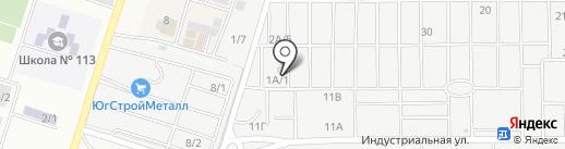 Тринитрин-Технологии на карте Янтарного