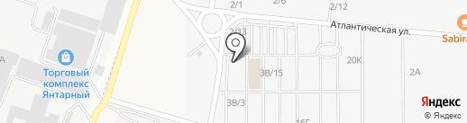 Сомово-Мебель на карте Янтарного