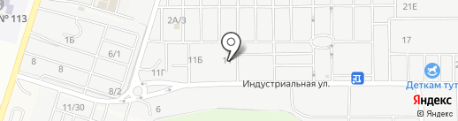 Васильев и К на карте Янтарного