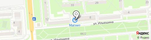 Рыболов на карте Вологды