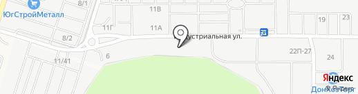 Мастеровой на карте Янтарного