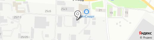 Торговая компания на карте Вологды
