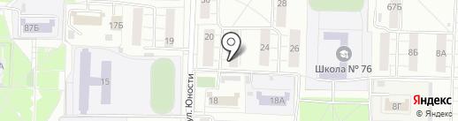 76 охрана на карте Ярославля