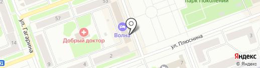 Банкомат, Мособлбанк, ПАО на карте Северодвинска
