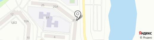 Участковый пункт полиции №19 на карте Северодвинска