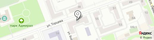 Здоровье, СМУП на карте Северодвинска