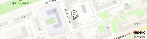 Участковый пункт полиции, Отдел полиции №15 на карте Северодвинска