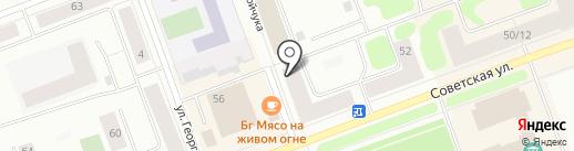 Банкомат, Росбанк, ПАО на карте Северодвинска