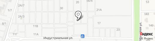 Нахаленок на карте Янтарного
