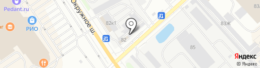 Фуд Сити на карте Вологды