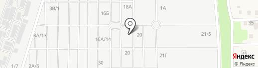 Ульяновская мебель на карте Янтарного