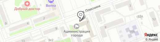 Совет депутатов Северодвинска на карте Северодвинска